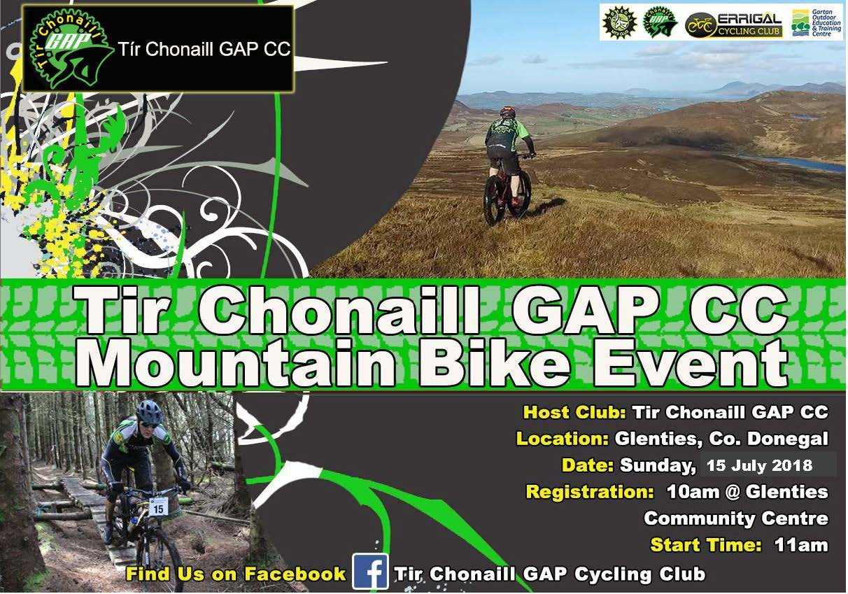 Mountain Biking Event. 15th July