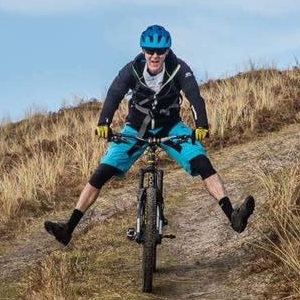 Mountain Biking, Gerard Curran